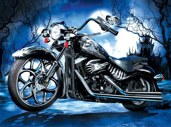 Skeleton Ride 1000pc Jigsaw Puzzle | Jim Todd