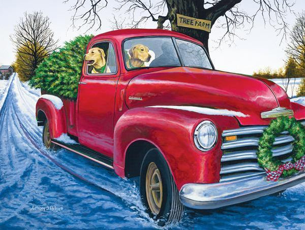 Tree Farm 500pc Jigsaw Puzzle | Anthony Padgett