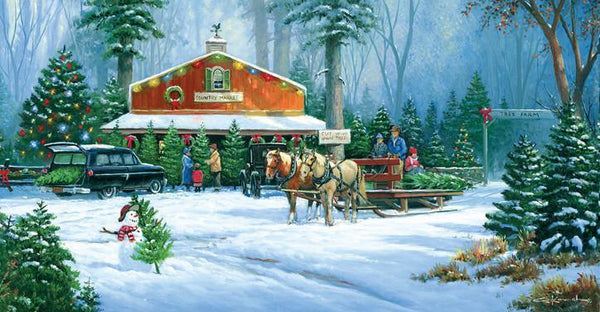 Holiday Tradition 500pc Jigsaw Puzzle | George Kovach