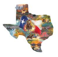 Images of Texas 1000pc Shaped