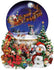 Santa's Snowy Ride 1000pc Shaped Jigsaw Puzzle | Lori Schory