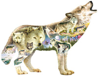 Meadow Wolf 750pc Shaped