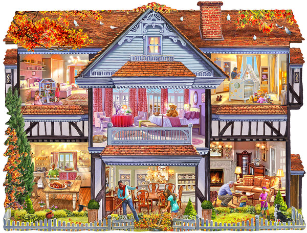 Autumn Country House