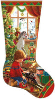 A Boy's Stocking 800pc Shaped