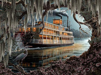 Night on the River 1000pc