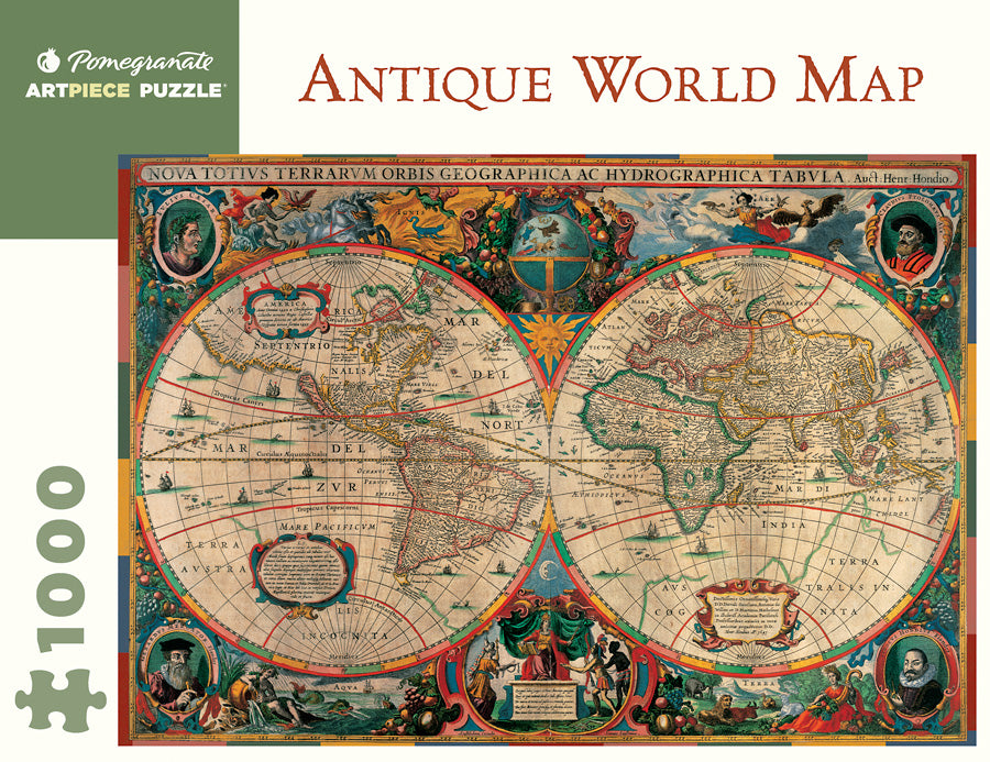 Antique World Map