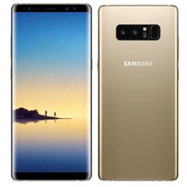 Samsung Galaxy Note 8 N950FD 64GB Dual Sim Unlocked Mobile Phone