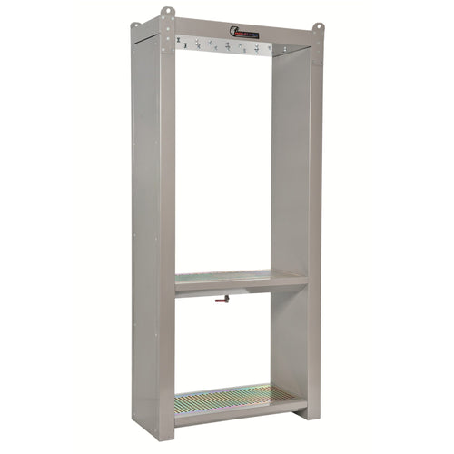 Wolflube Support Cabinet for 4 Hose Reels