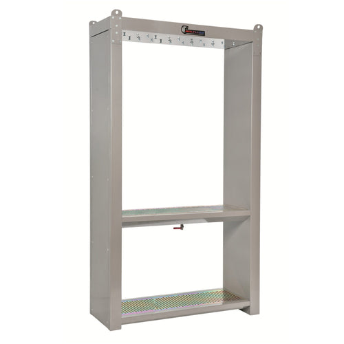 Wolflube Support Cabinet for 6 Hose Reels