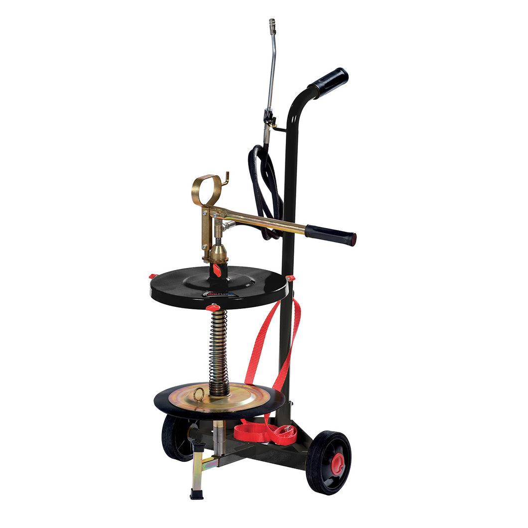 Wolflube Wheeled manual grease pump for 35 lbs/ 5 gallon pail freeshipping - Empire Lube Equipment