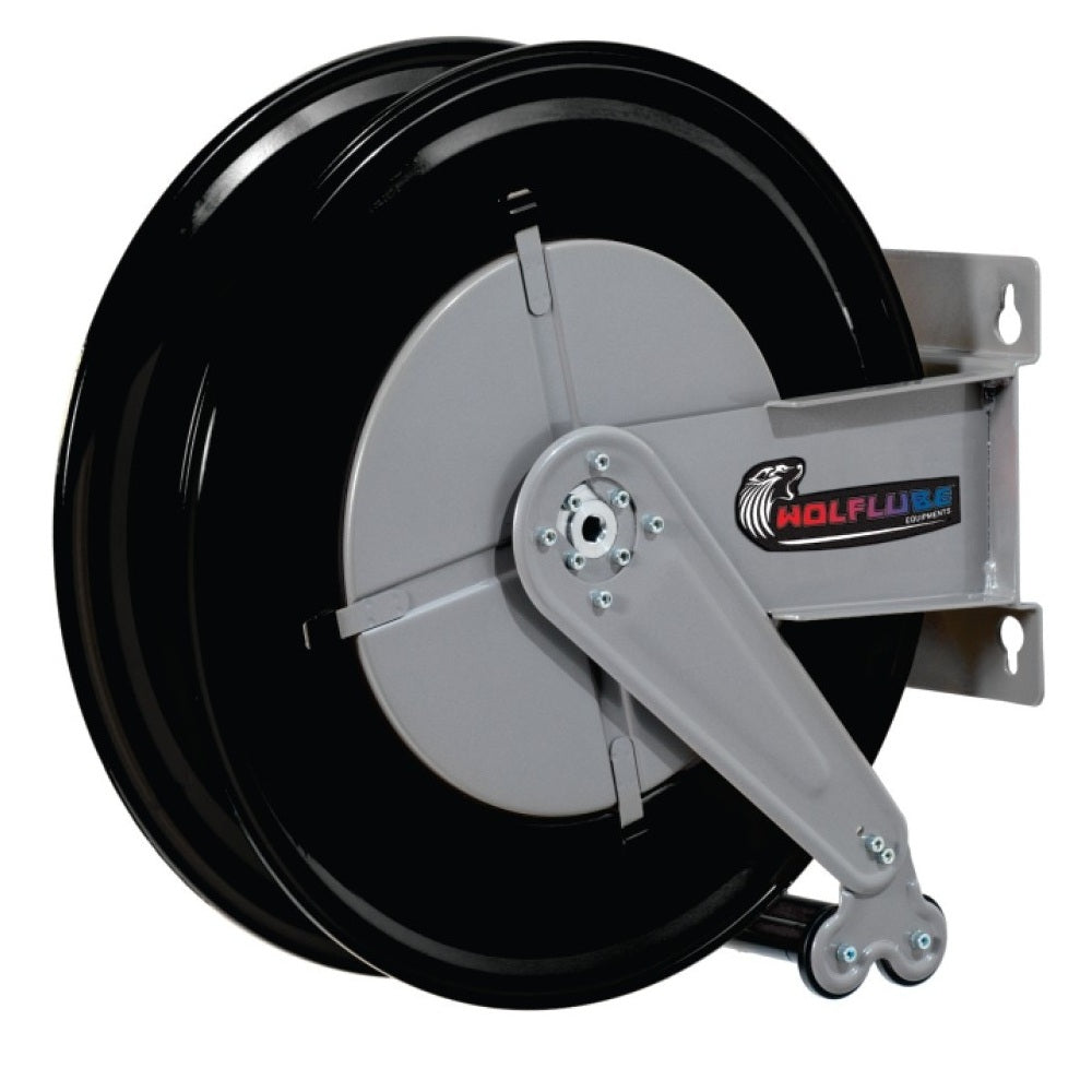 Wolflube Automatic Hose Reel for Grease - 3/8in - Up to 80ft
