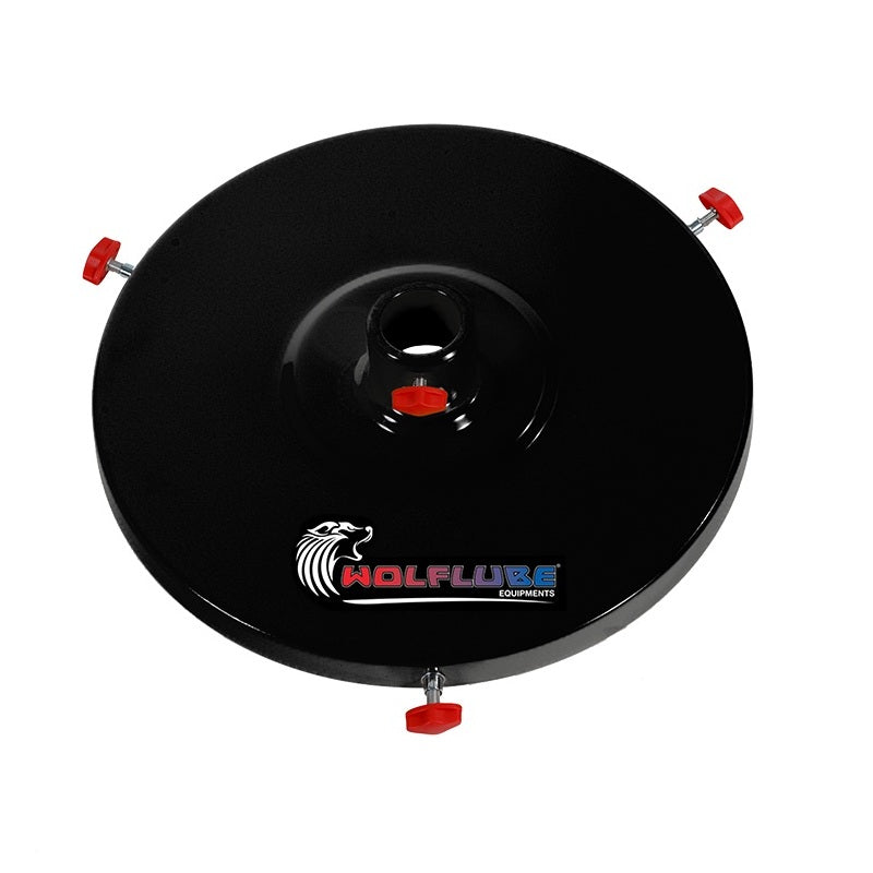 Wolflube Lid For 35 to 60 lbs Drums - 12.6 in Diameter