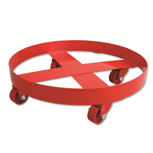 Wolflube Drum Dolly - holds 400 lbs ( 55 gal ) drum