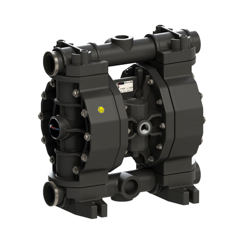 Wolflube Diaphragm Pump - Polypropylene - 1.1/4'' - For Oil and Diesel - Free Flow Rate 66 gpm