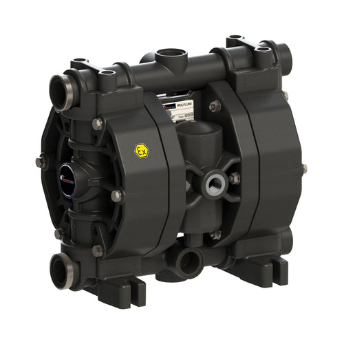 Wolflube Diaphragm Pump - Polypropylene - 3/4'' - For Oil and Diesel - Free Flow Rate 29 gpm