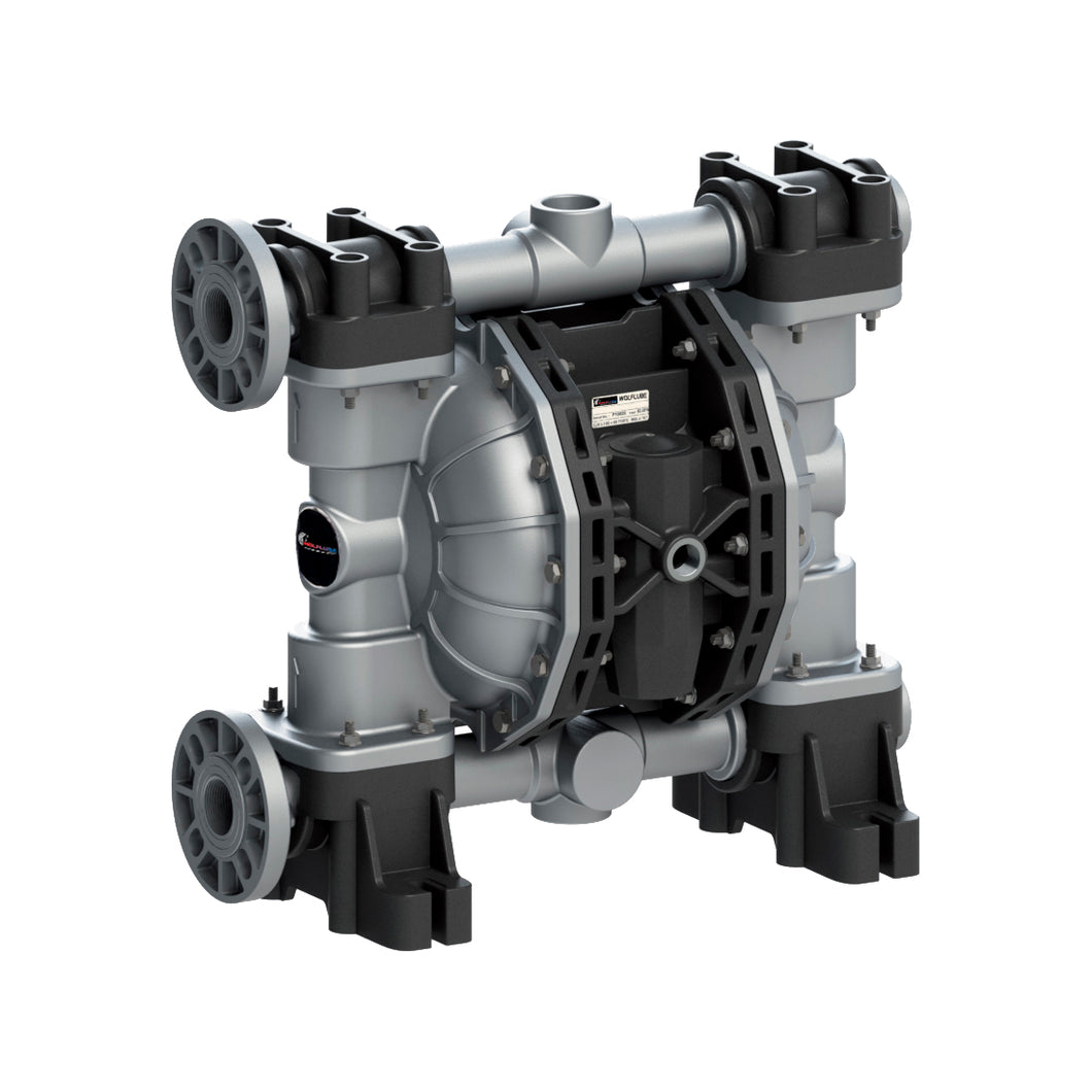 Wolflube Diaphragm Pump - Aluminum - 1.1/2'' - For Oil and Diesel - Free Flow Rate 145 gpm