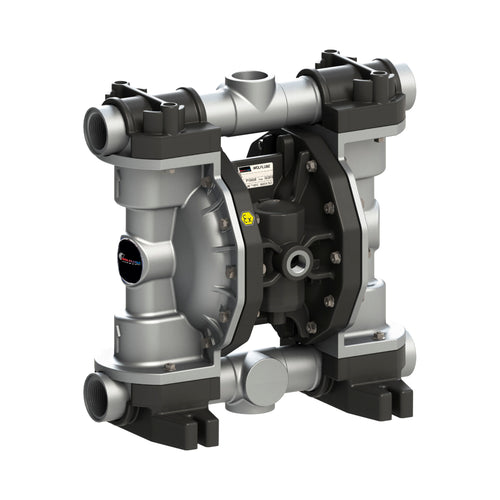Wolflube Diaphragm Pump - Aluminum - 1.1/4'' - For Oil and Diesel - Free Flow Rate 66 gpm