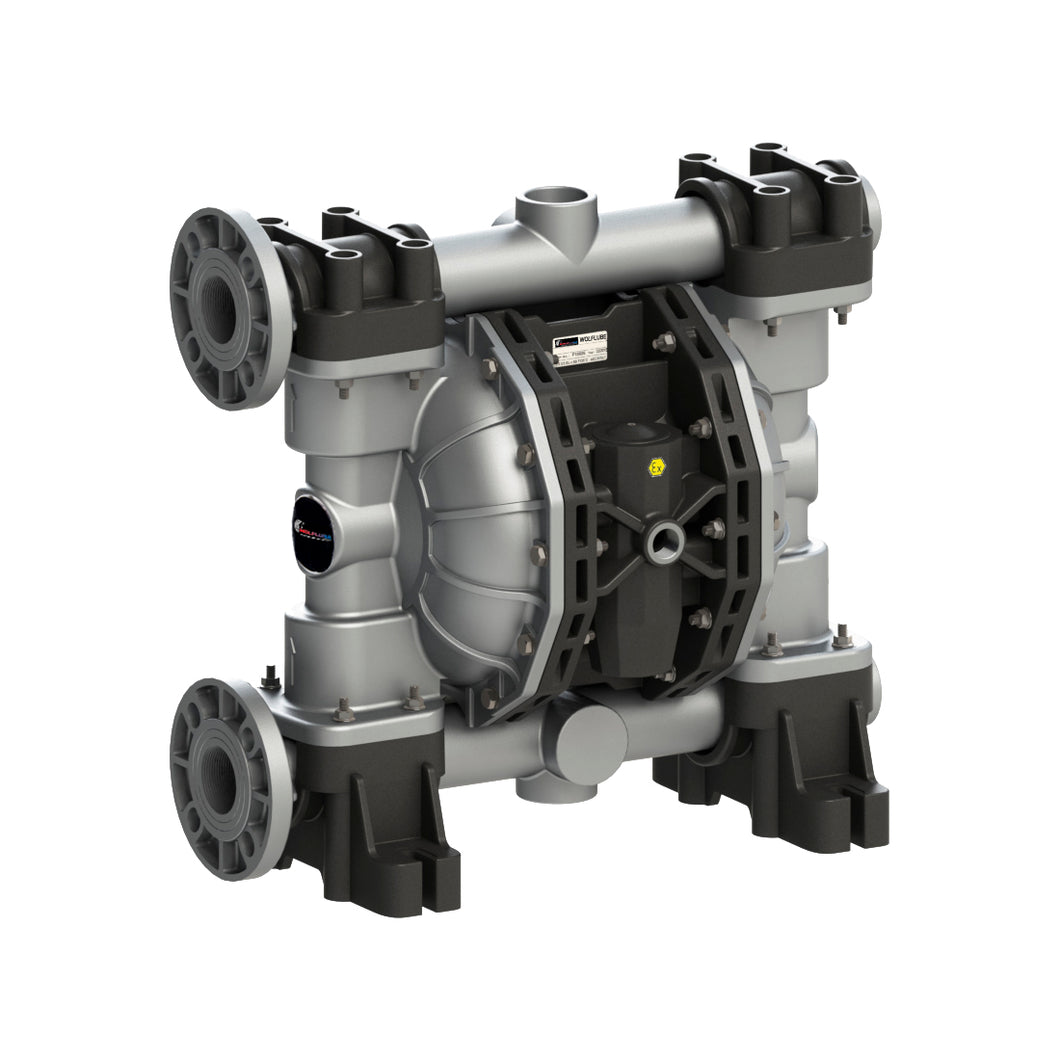 Wolflube Diaphragm Pump - Aluminum - 2'' - For Oil and Diesel - Free Flow Rate 185 gpm freeshipping - Empire Lube Equipment