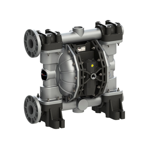 Wolflube Diaphragm Pump - Aluminum - 2'' - For Water and DEF - Free Flow Rate 185 gpm