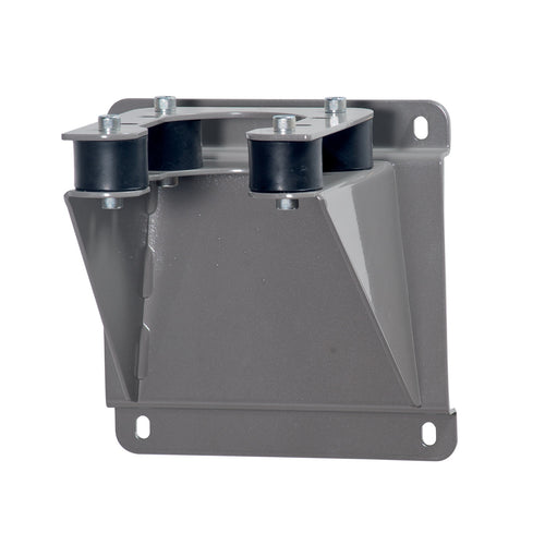 Wolflube Wall Fixed Bracket in Steel with Rubber Anti-Vibration