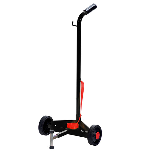 Wolflube Trolley for 45 - 132 lbs Drums - 2 wheels Ø 12in freeshipping - Empire Lube Equipment
