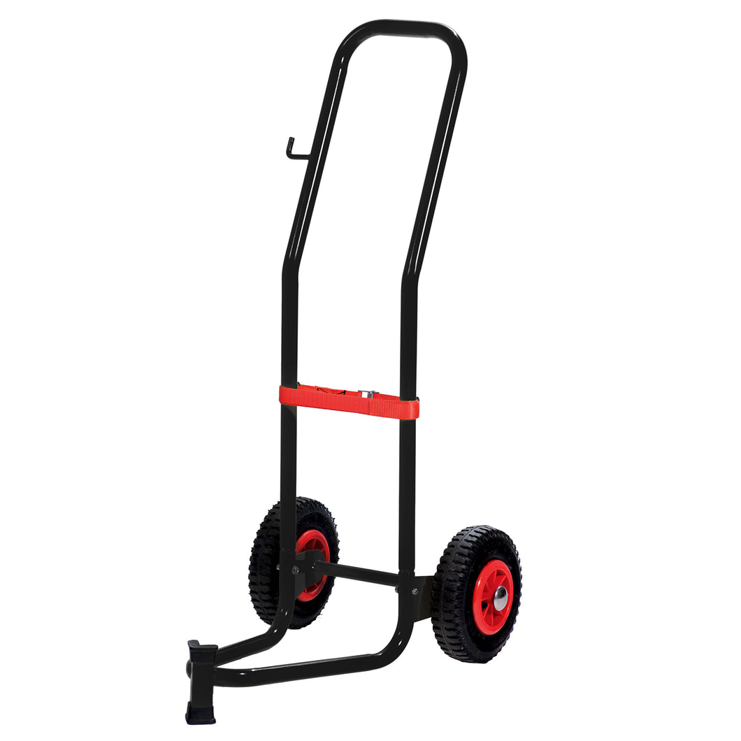Wolflube Trolley for 35 - 60 lbs Drums - 2 Pneumatic Wheels freeshipping - Empire Lube Equipment