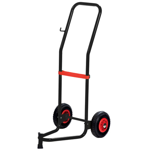 Wolflube Trolley for 35 - 120 lbs Drums - 2 Pneumatic Wheels freeshipping - Empire Lube Equipment