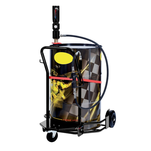 Wolflube Wheeled Oil Set - for 55 GAL Drums - 3:1