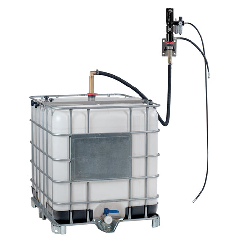 Wolflube Wall Mount Oil Set - 5:1 - for 275 GAL Totes/IBCs