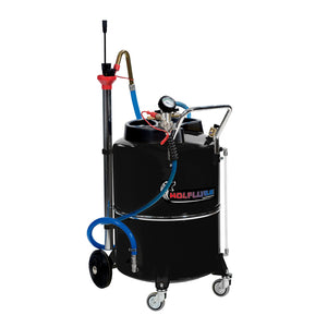 Wolflube Air-Operated Exhausted Oil Aspirator 31 Gal freeshipping - Empire Lube Equipment