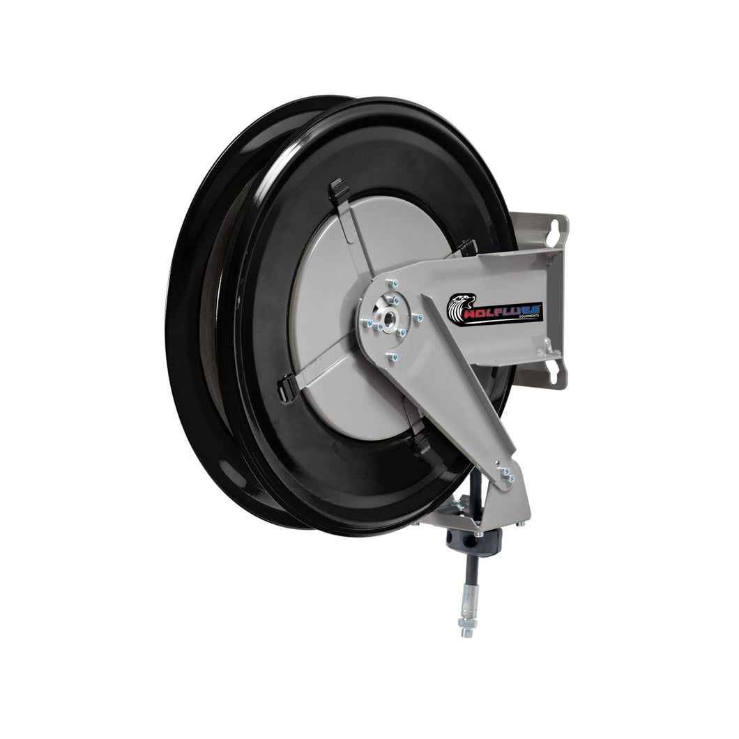 Wolflube Automatic Hose Reel for Oil- 3/8in - 30 ft Hose freeshipping - Empire Lube Equipment