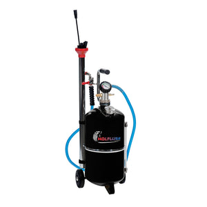 Wolflube Air-Operated Exhausted Oil Aspirator - 6 Gal Capacity