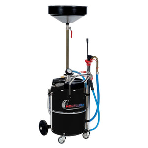 Wolflube Air-Operated Oil Suction-Drainer -  17 Gal Capacity