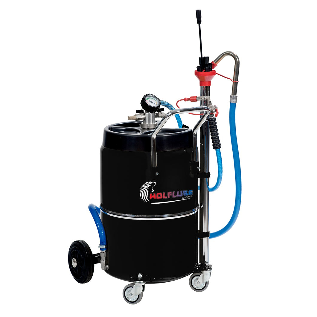 Wolflube Air-Operated Exhausted Oil Aspirator 17 Gal freeshipping - Empire Lube Equipment