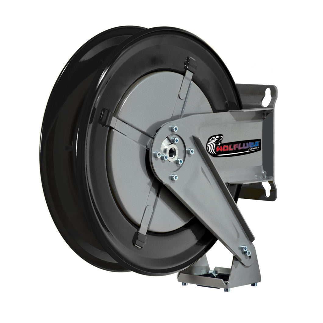 Wolflube Automatic Hose Reel for Oil - 3/8in - Up To 50ft