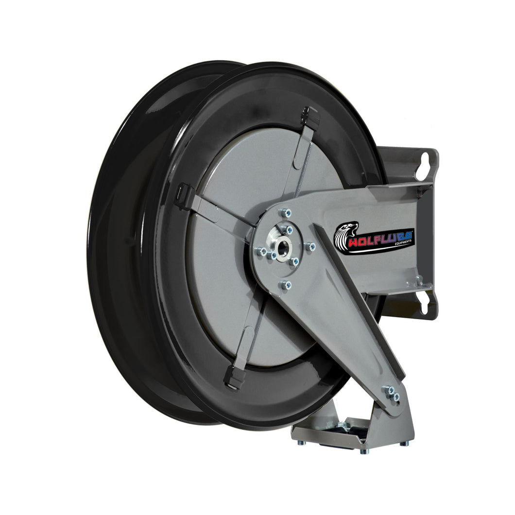 Wolflube Automatic Hose Reel for Oil - 1/2in - Up To 80ft