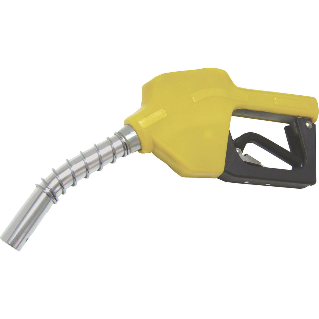Wolflube Automatic Nozzle – 1/2in – for Fuel – Yellow