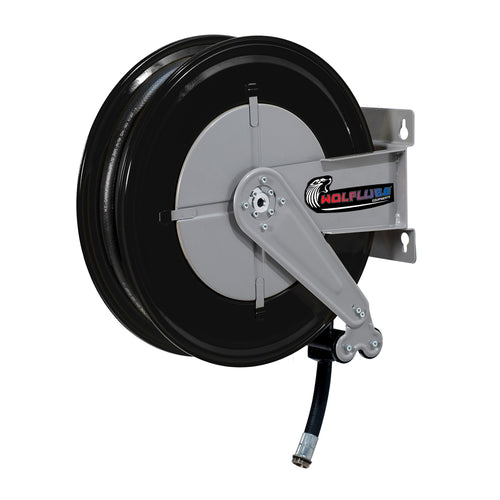 Wolflube Automatic Hose Reel for Diesel – 3/4in – 50 ft Hose