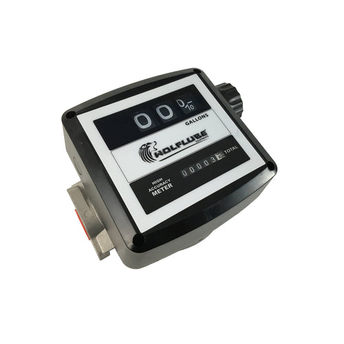 Wolflube Atex 3 Digits Mechanical Meter – for Diesel and Gasoline