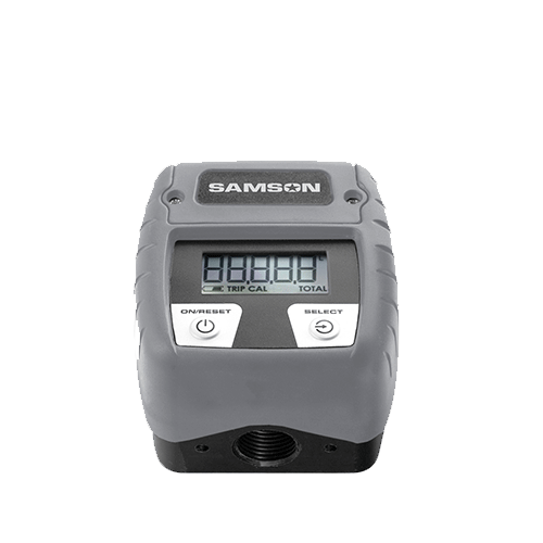 Samson Digital In-line Meter PVC 13 GPM - 366 010 freeshipping - Empire Lube Equipment
