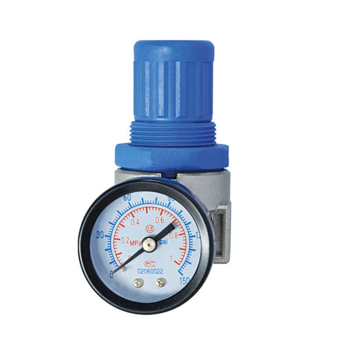 Wolflube Air Regulator - Inlet 1/4in - Up to 150 PSI