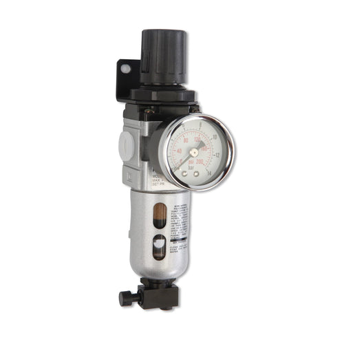 Filter Regulator - Inlet 1/4 in - Up to 150 PSI