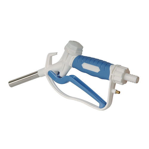 Wolflube Manual DEF Nozzle - White and Blue - In Acetal