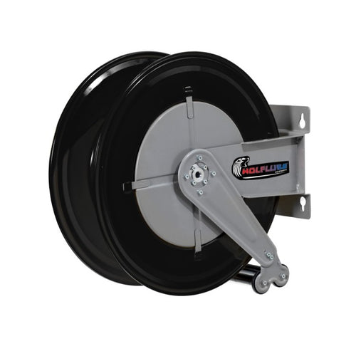 Wolflube Automatic Hose Reel for Grease – 3/4in – Up to 50ft