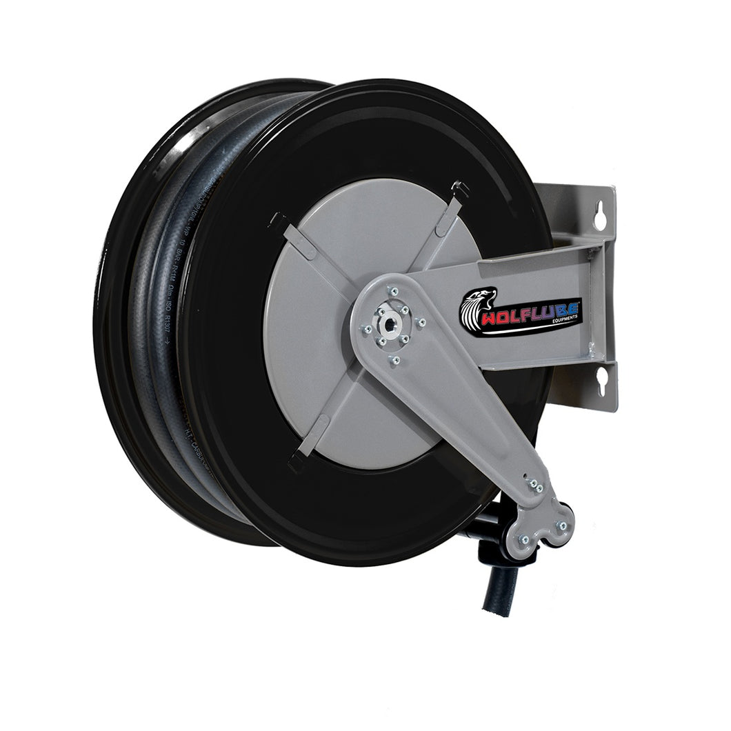 Wolflube Automatic Hose Reel for DEF - 3/4in - 50 ft Hose