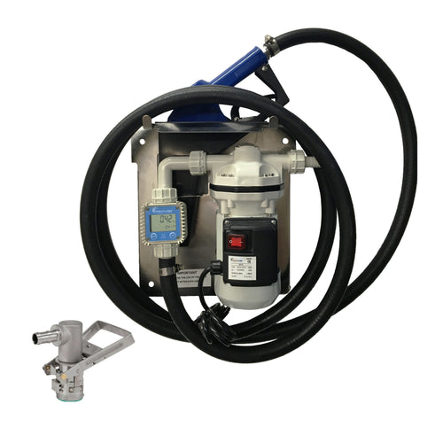 Wolflube DEF Kit 120V - Hose, Automatic Nozzle, Meter and Valve freeshipping - Empire Lube Equipment