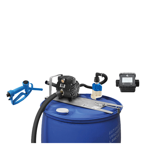 Standard Duty Pneumatic Pump Kits-Metered