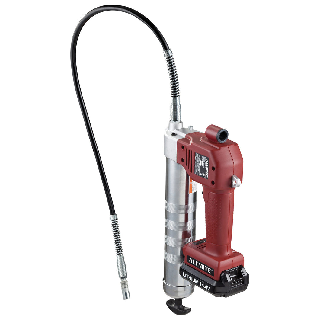Alemite 14.4 Volt Lithium-Ion Battery-Powered Grease Gun - 586 Series