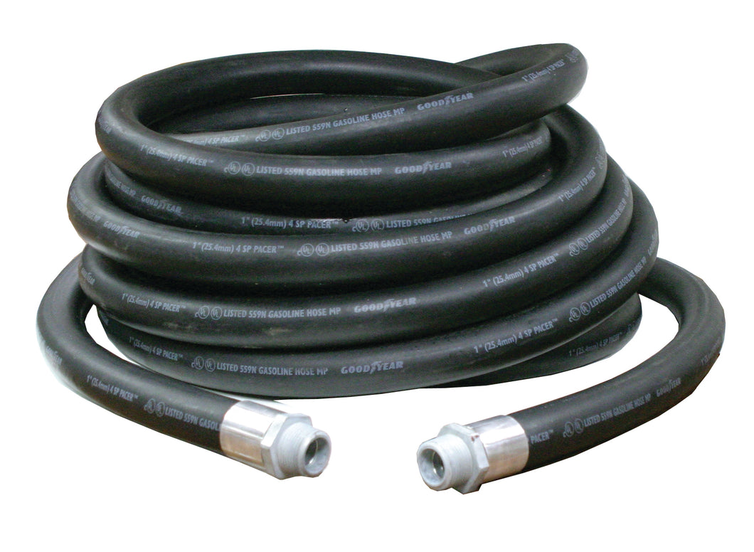 REELCRAFT S600451-35 1 x 35ft, 250 psi, Fuel Hose Assembly
