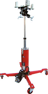 Norco 1/2 Ton Capacity Telescopic Under Hoist Air / Hydraulic Transmission Jack - FastJack - 72450B - Empire Lube Equipment